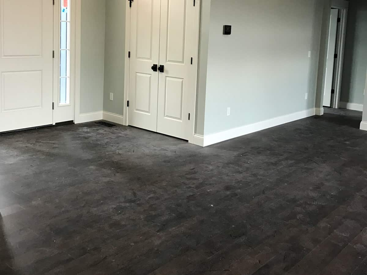 Before-Hardwood Floor